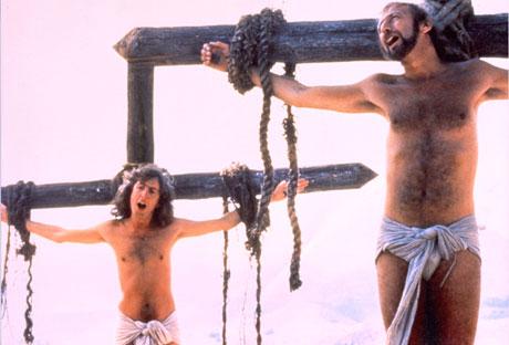 Dos evangelios apócrifos: Monty Python y Rice-Weber